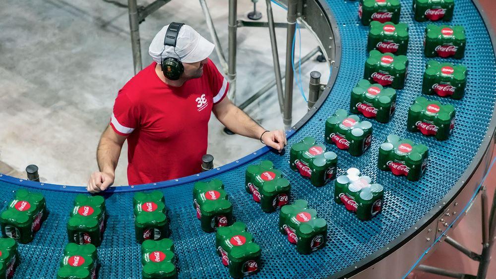 Αυξήθηκαν 0,5% τα συγκρίσιμα καθαρά κέρδη α΄ εξαμήνου για την Coca-Cola HBC