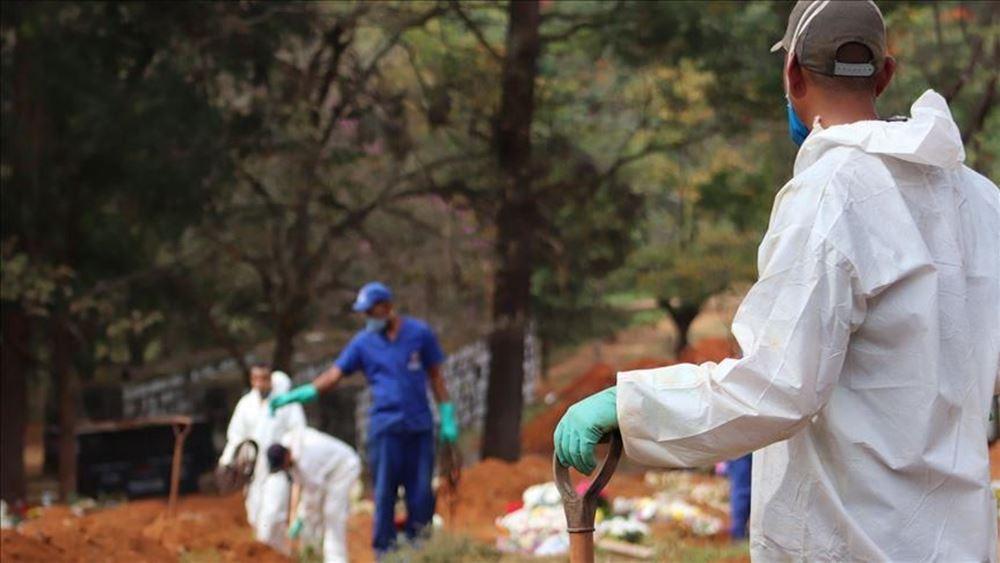 Μεξικό: 12.081 κρούσματα κορονοϊού και 631 θάνατοι σε 24 ώρες
