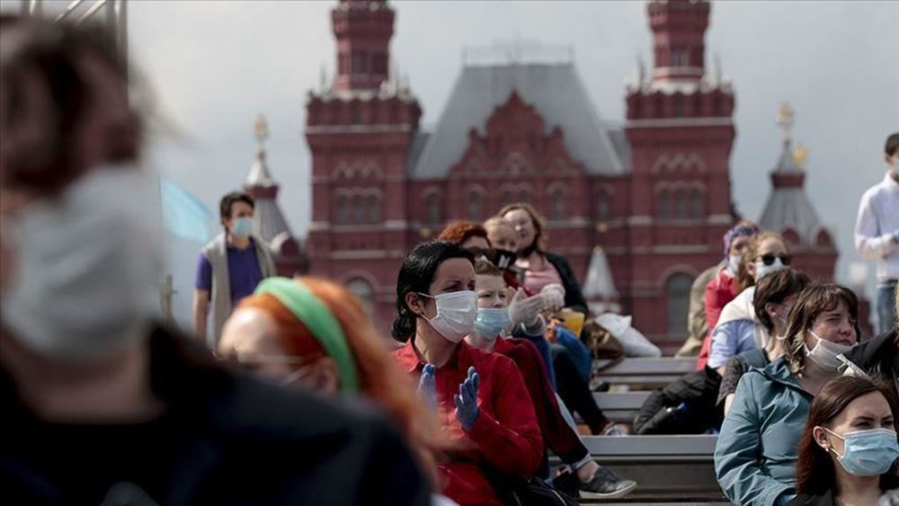 Ρωσία: Περισσότερα από 7.500 νέα κρούσματα Covid-19