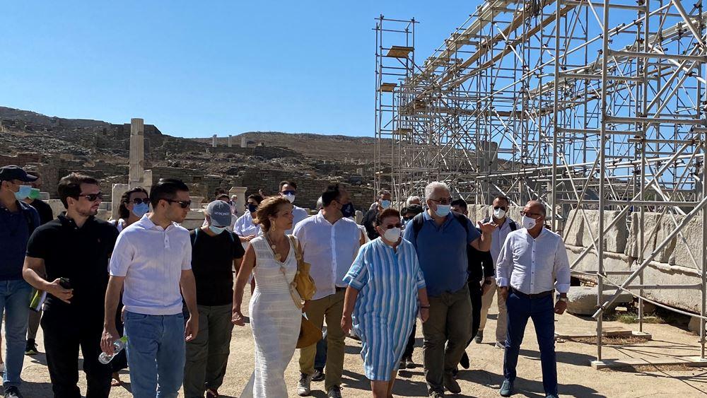 Υπ. Πολιτισμού: Δρομολογείται ολοκληρωμένο σχέδιο ανάδειξης και διαχείρισης του αρχαιολογικού χώρου της Δήλου
