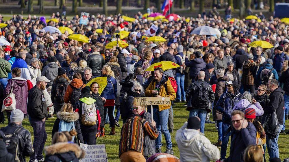 χάγη-διαδήλωση