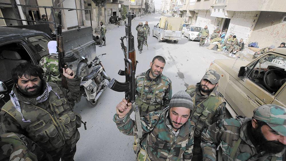 """Συμφωνία Δαμασκού - Κούρδων για αντιμετώπιση της """"τουρκικής επίθεσης"""""""