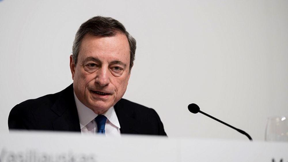 Ντράγκι: Το ευρώ έχει βοηθήσει να βελτιωθεί η ποιότητα των θεσμών
