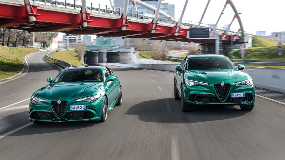 Alfa Romeo Giulia & Stelvio: Πιο δημοφιλέστερες από ποτέ