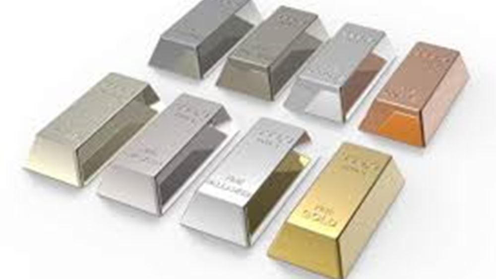Κέρδη 1,1% ο χρυσός