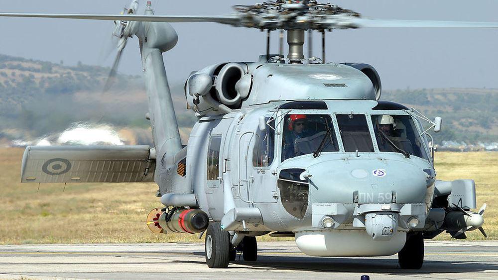 Παραδόθηκε το πρώτο αναβαθμισμένο ελικόπτερο Aegean Hawk S-70 του Πολεμικού Ναυτικού