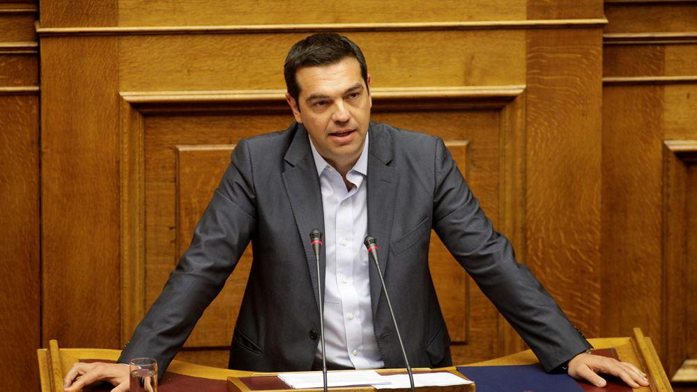 """Κριτική Τσίπρα στην Κυβέρνηση για την Οικονομία- Ρίχνει """"δίχτυα"""" στην επιχειρηματικότητα"""