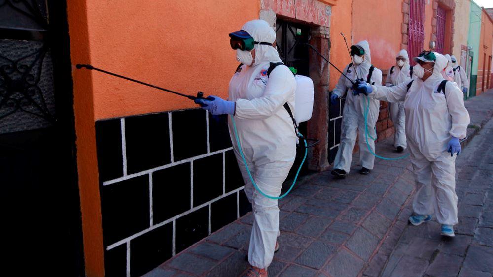 Μεξικό: 257 θάνατοι, 1.982 κρούσματα μόλυνσης κορονοϊού