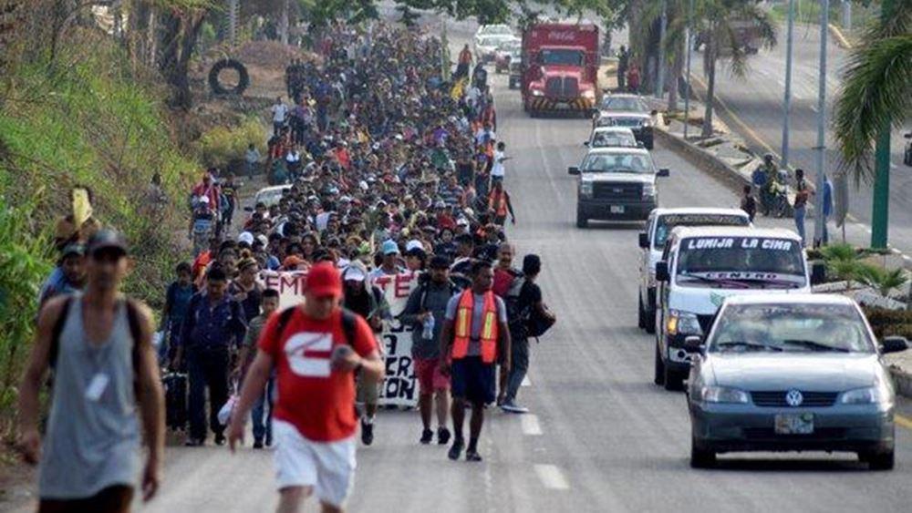 Μεξικό: Επείγουσα ανθρωπιστική κατάσταση στην Τιχουάνα λόγω των μεταναστών του καραβανιού