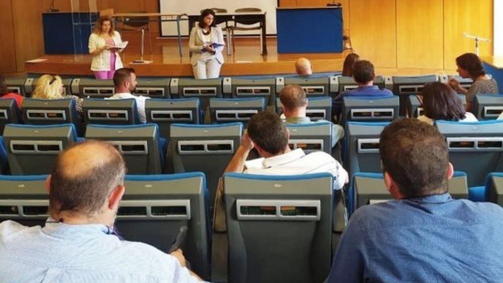 Συζήτηση Κεραμέως με φορείς για την εξ αποστάσεως εκπαίδευση