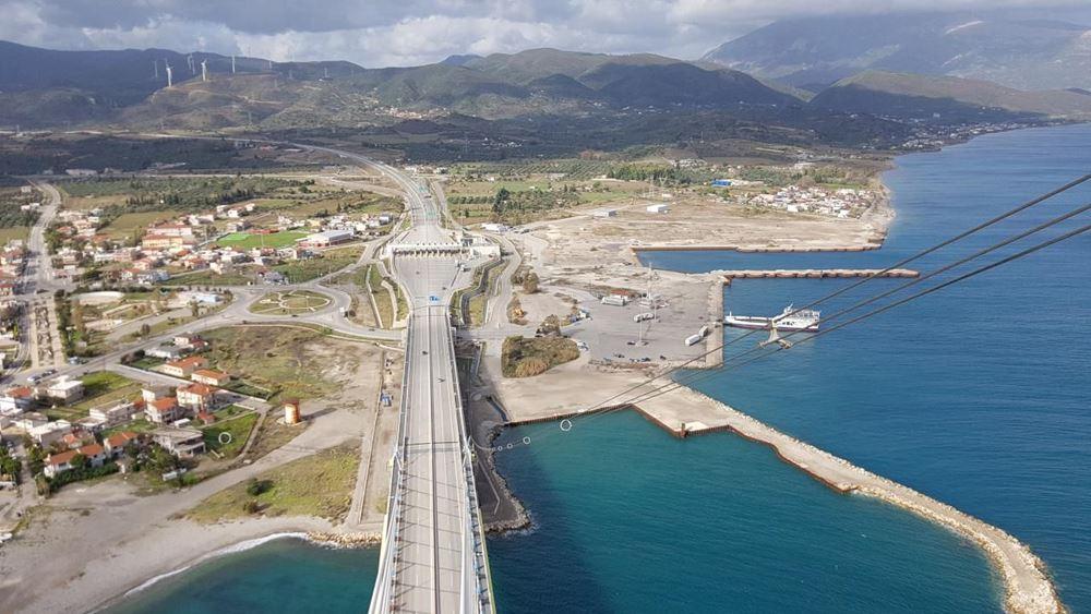 ΤΑΙΠΕΔ: Ξεκινά διεθνής διαγωνισμός για τον πρώην εργοταξιακό χώρο του έργου ζεύξης Ρίου - Αντιρρίου