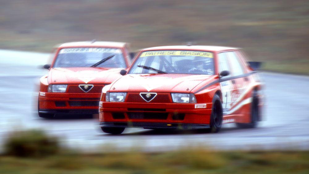 """Alfa Romeo 75 Turbo Evoluzione IMSA: Το """"κτήνος"""" του Arese"""