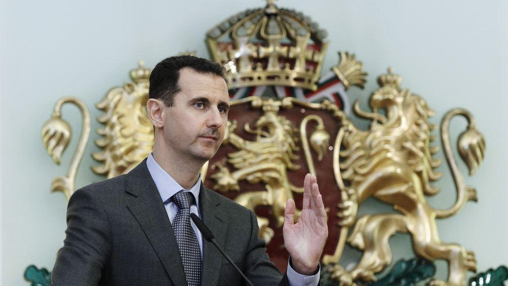 """Ο Άσαντ προειδοποιεί για """"καταστροφή"""" στην περίπτωση εκδήλωσης κρουσμάτων"""