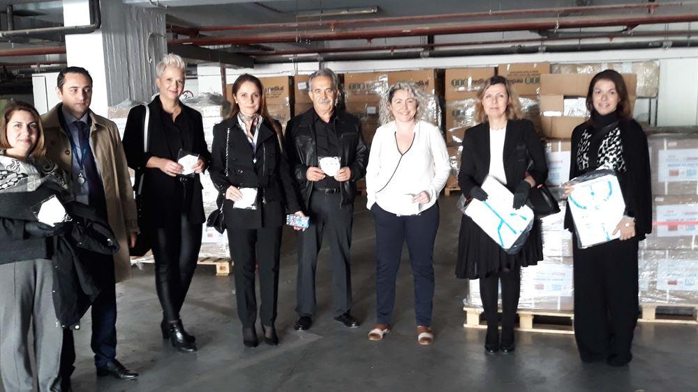 Δωρεά εξοπλισμού προστασίας στην 7η υγειονομική Περιφέρεια Κρήτης