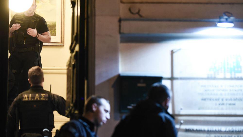 Δολοφονία Ζαφειρόπουλου: Έφοδος της ΕΛ.ΑΣ. σε διαμέρισμα στην Καλλιθέα