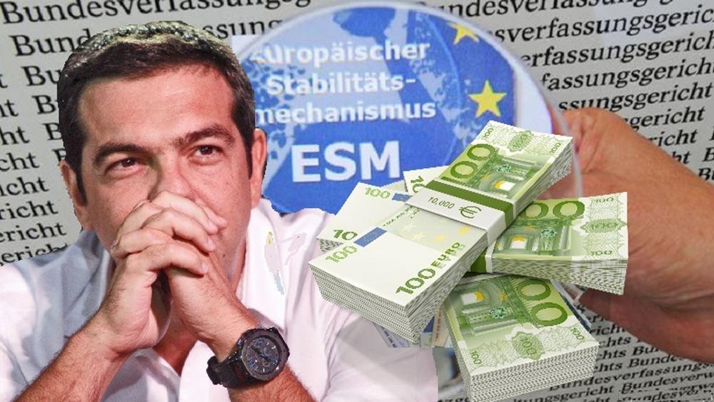 """""""Πράσινο φως"""" από ESM για την εκταμίευση της υποδόσης των 800 εκατ. ευρώ"""