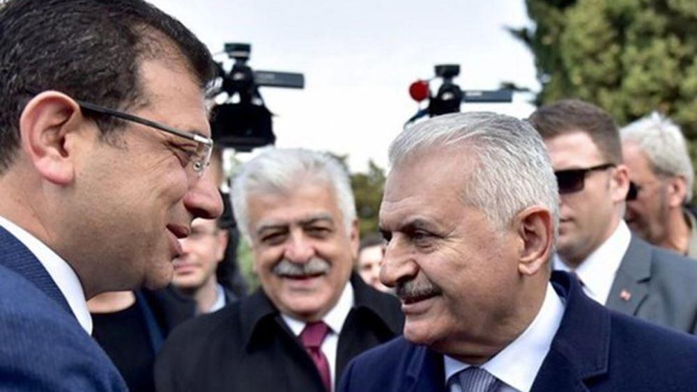 Τουρκία: Σήμερα η τηλεμαχία Ιμάμογλου-Γιλντιρίμ για τη δημαρχία της Κωνσταντινούπολης