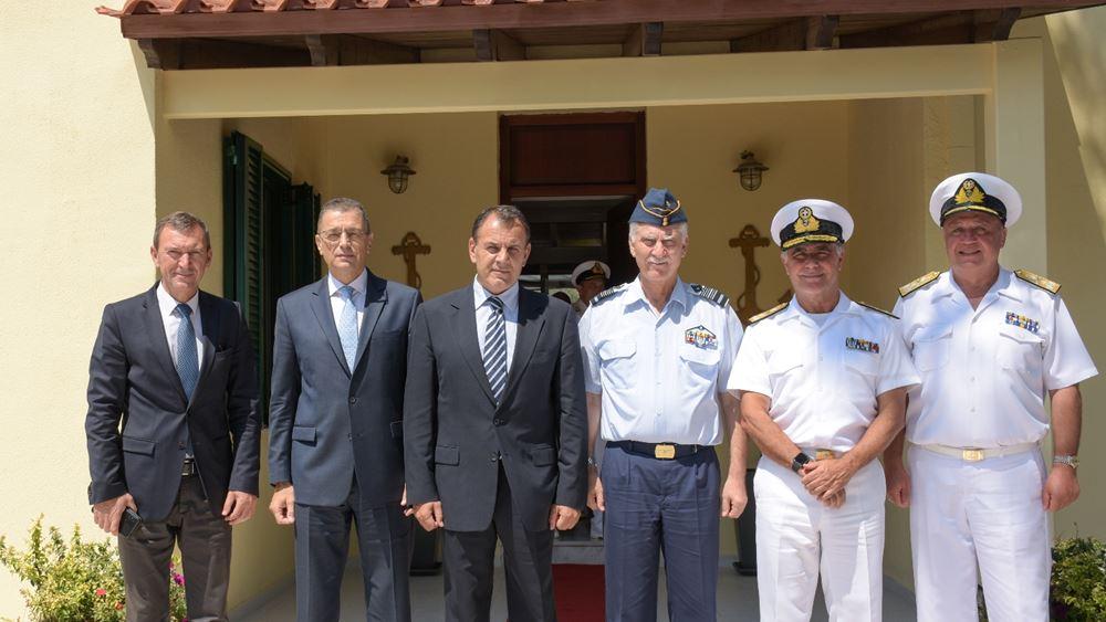 Παναγιωτόπουλος: Θα κάνουμε το παν ώστε οι Ένοπλες Δυνάμεις να είναι στο καλύτερο δυνατό σημείο