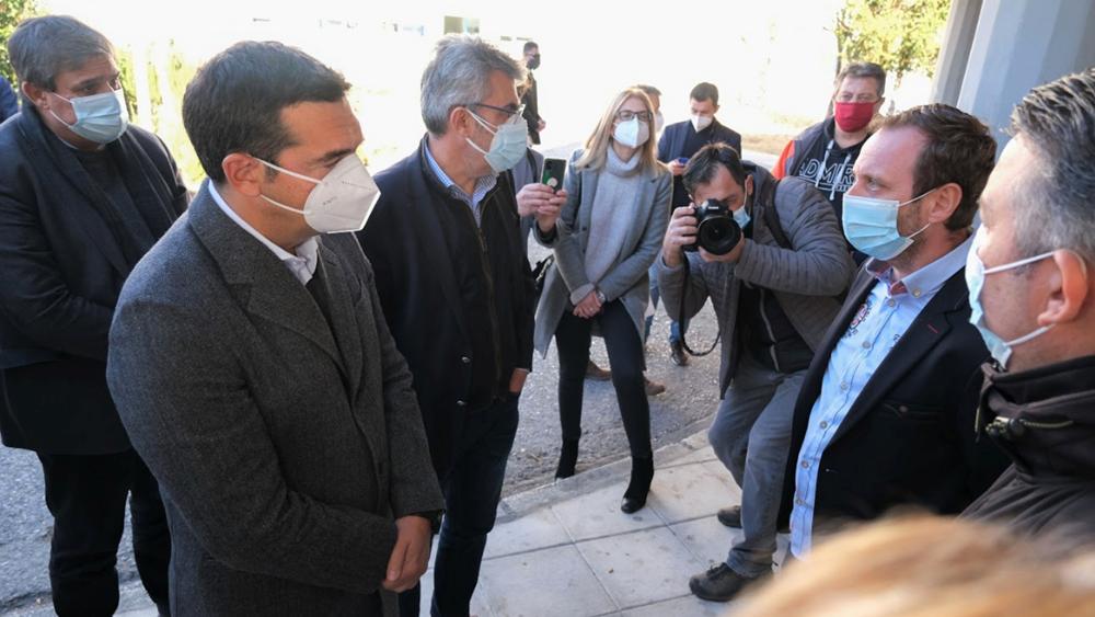 Τσίπρας στη Δράμα: Τεράστιες ευθύνες για τις σκηνές βόρειας Ιταλίας