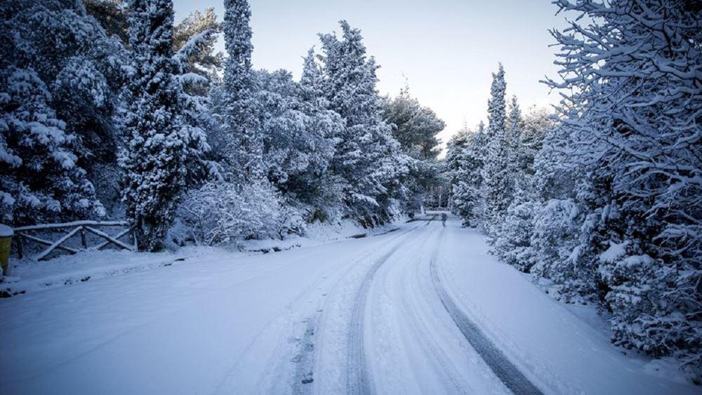χιόνι-βόρεια ελλάδα