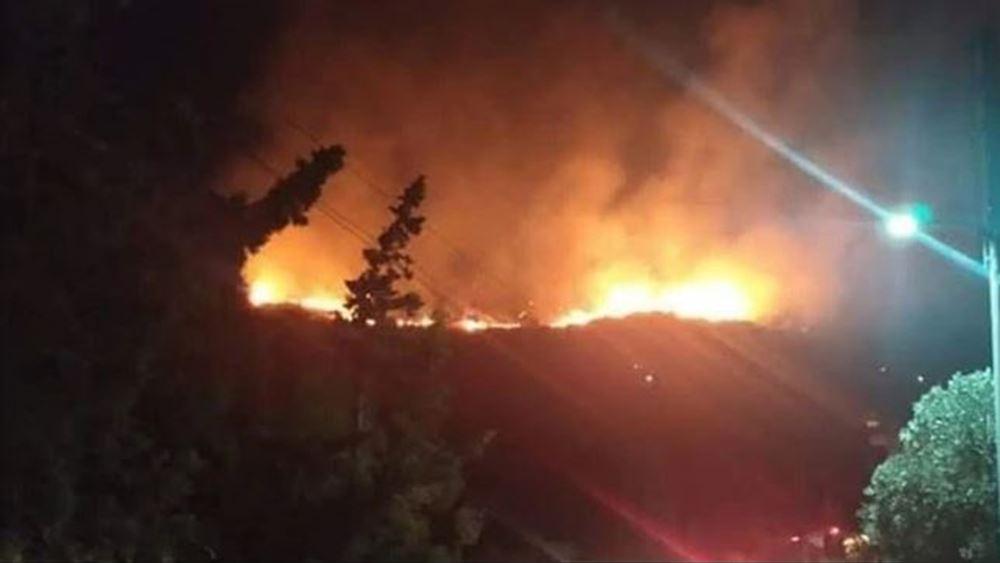 Φωτιά στο Πέραμα: Μία σύλληψη από την Πυροσβεστική