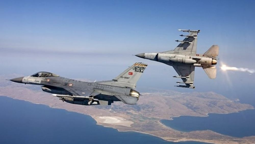 Συνεχίζει την προκλητικότητα η Άγκυρα-Πολλαπλές παραβιάσεις του FIR Αθηνών από τουρκικά μαχητικά