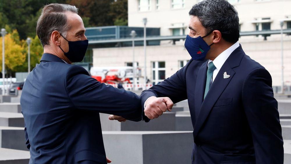 Πρώτη ιστορική συνάντηση των υπουργών Εξωτερικών Ισραήλ και Ηνωμένων Αραβικών Εμιράτων