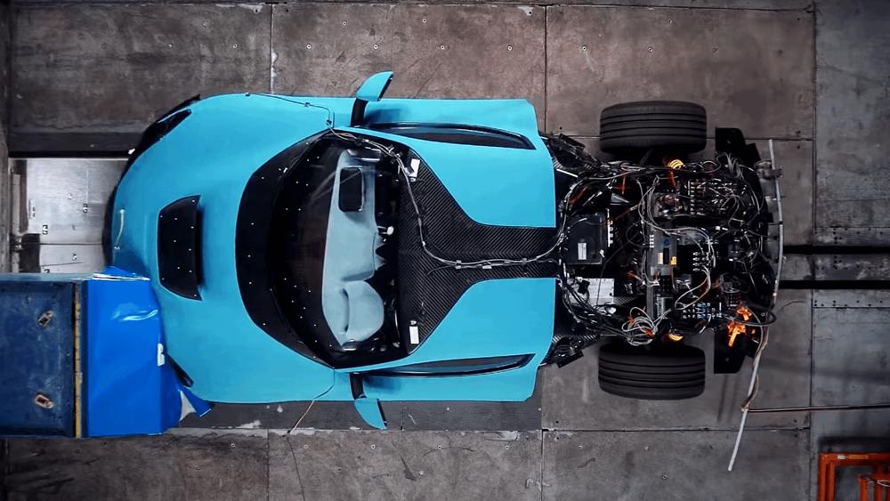 Rimac C_Two: Crash test με το ηλεκτρικό hypercar των 1.914 ίππων