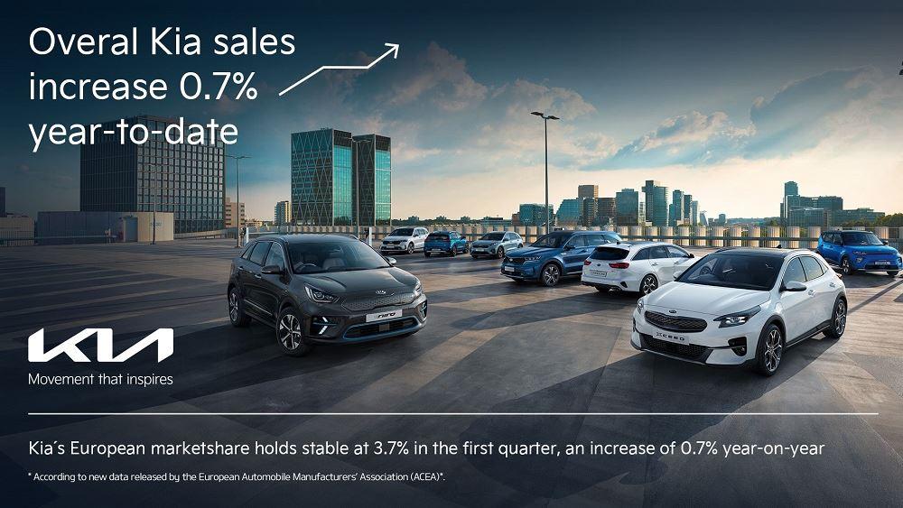 Αύξηση πωλήσεων και στα ηλεκτροκίνητα για την Kia στο Q1 2021