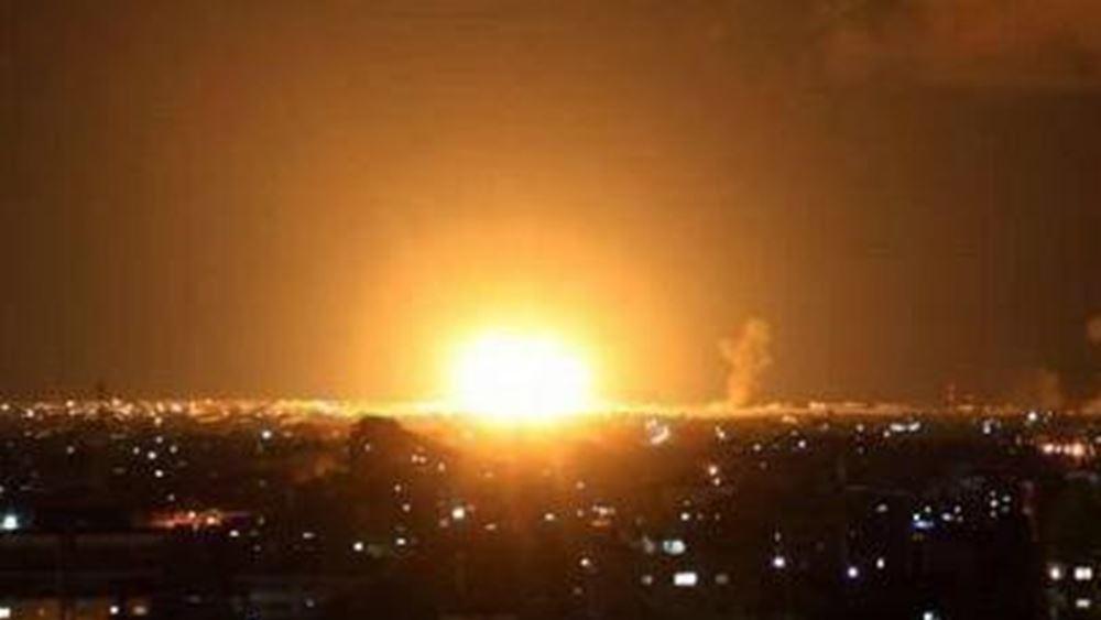 Ισραήλ: Αεροπορικές επιδρομές κατά της Χαμάς στη Γάζα