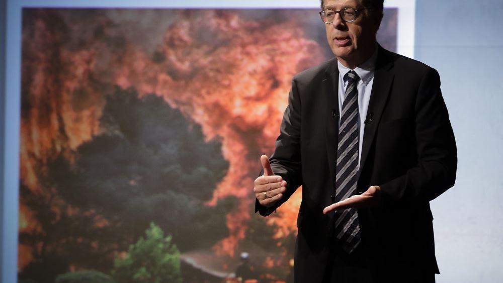 Κ. Συνολάκης: Ο καύσωνας που ζούμε τώρα μπορεί να είναι κανονικότητα στο τέλος του αιώνα