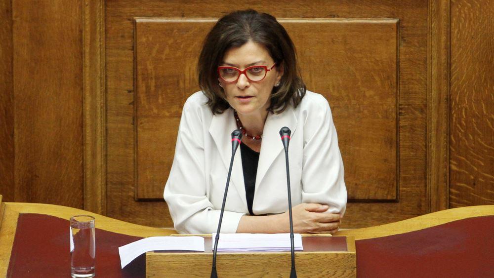 Αντωνοπούλου: Σε 12 δόσεις και ηλεκτρονικά η πληρωμή των φόρων