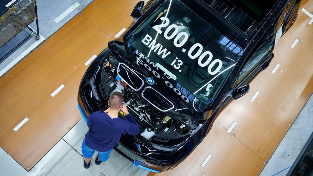 Το ηλεκτρικό BMW i3 σπάει το φράγμα των 200.000 μονάδων