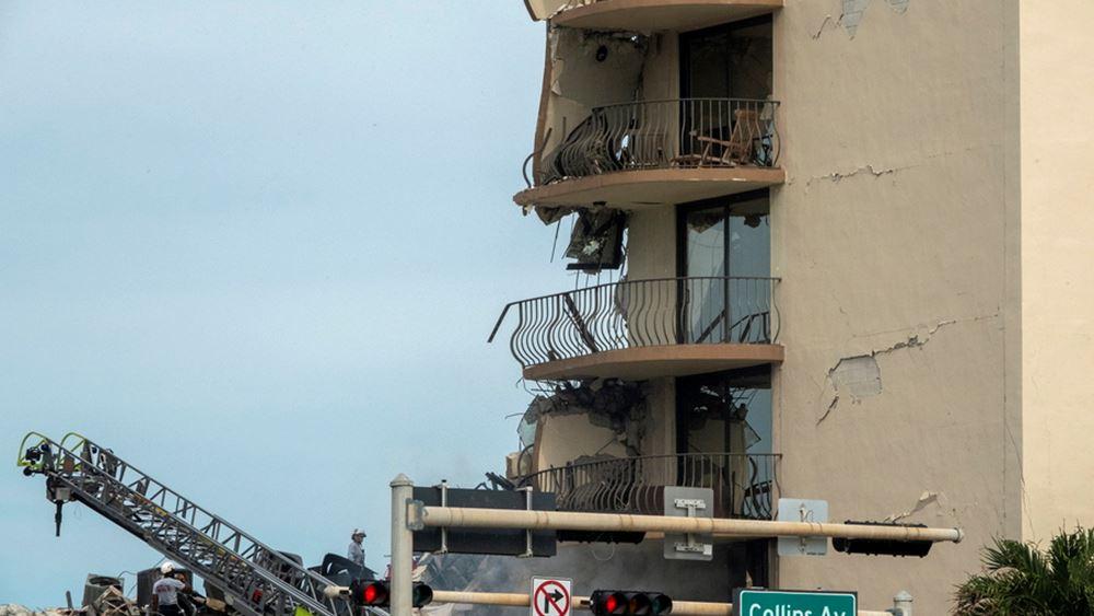 Κατάρρευση πολυκατοικίας στη Φλόριντα: Έχουν ανασυρθεί 79 πτώματα
