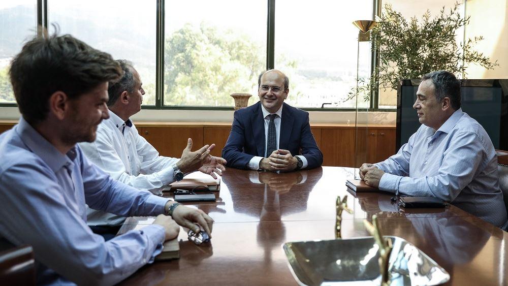 Χατζηδάκης: Στόχος μας να εκπονήσουμε ένα σχέδιο σωτηρίας της ΔΕΗ