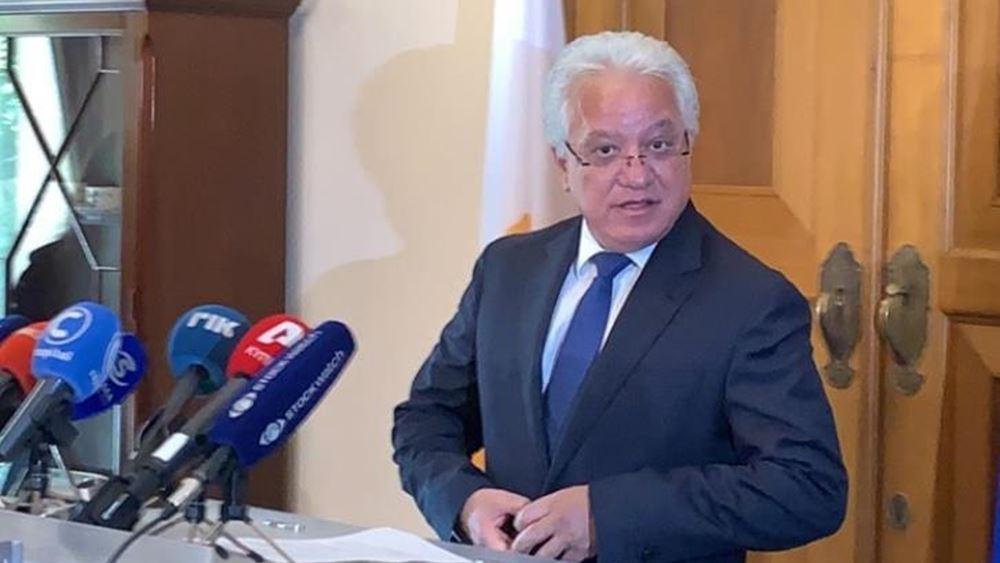 Κύπρος: Παραιτήθηκε ο υπ. Δικαιοσύνης Ι. Νικολάου
