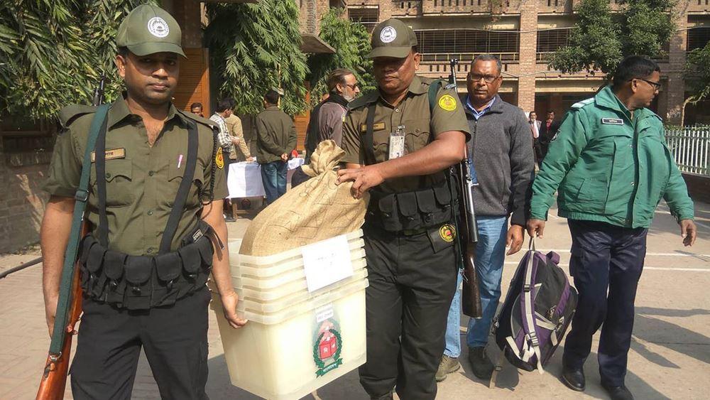 Μπανγκλαντές: Με δρακόντεια μέτρα ασφαλείας θα διεξαχθούν οι αυριανές βουλευτικές εκλογές