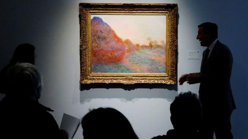 Γαλλία: Ρεκόρ καταγράφηκε στον αριθμό των έργων τέχνης που πωλήθηκαν σε δημοπρασίες το 2019