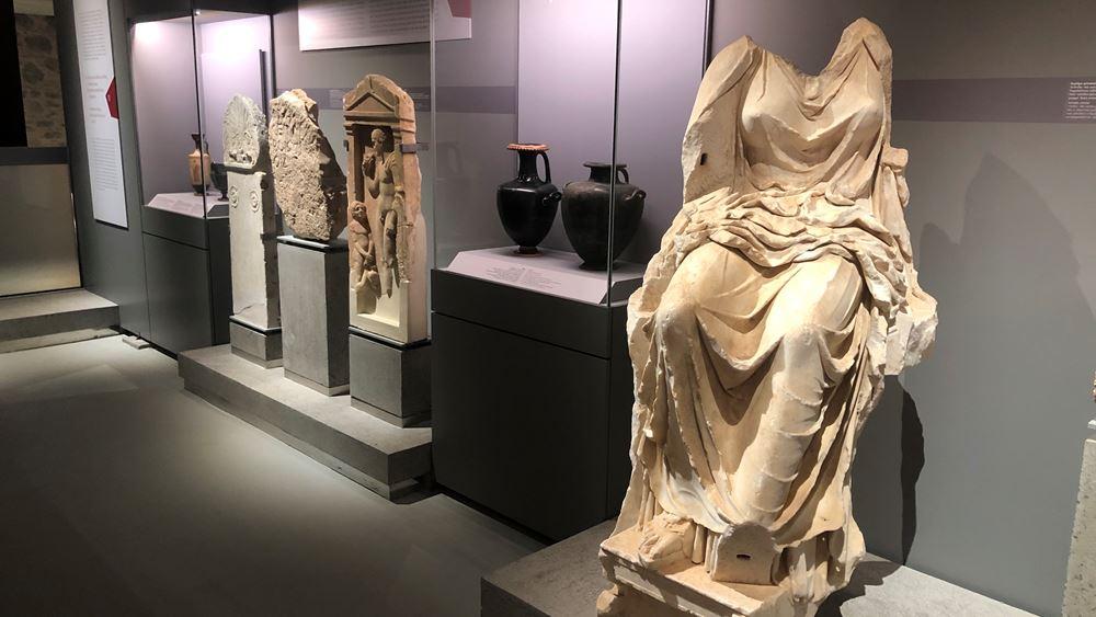 """Εγκαινιάστηκε το Αρχαιολογικό Μουσείο Χαλκίδας """"Αρέθουσα"""""""