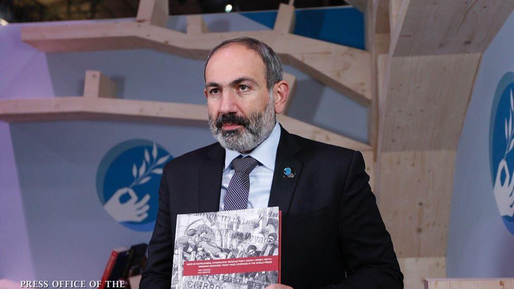 Θετικός στον κορονοϊό ο πρωθυπουργός της Αρμενίας