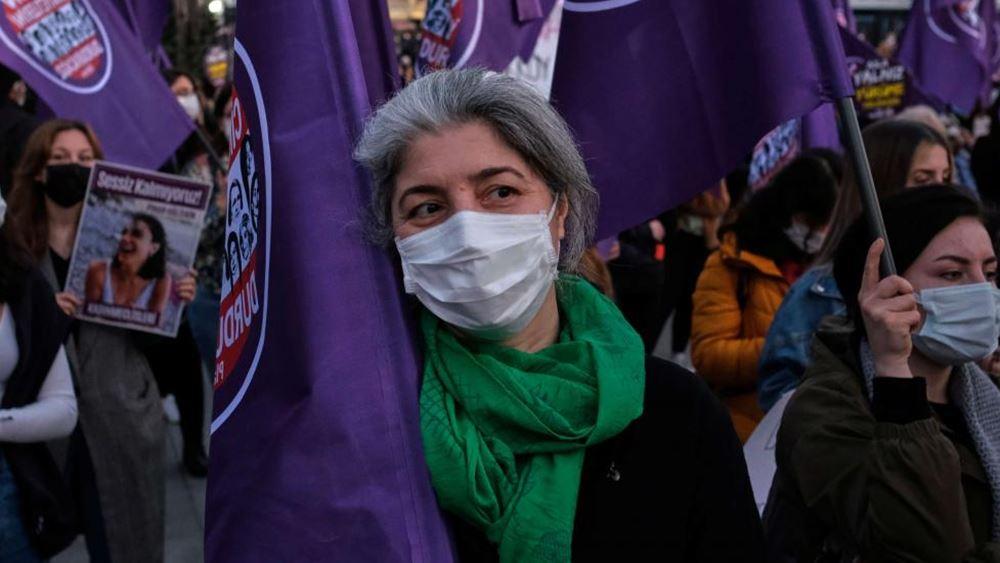 τουρκία-διαδηλώσεις-γυναικών