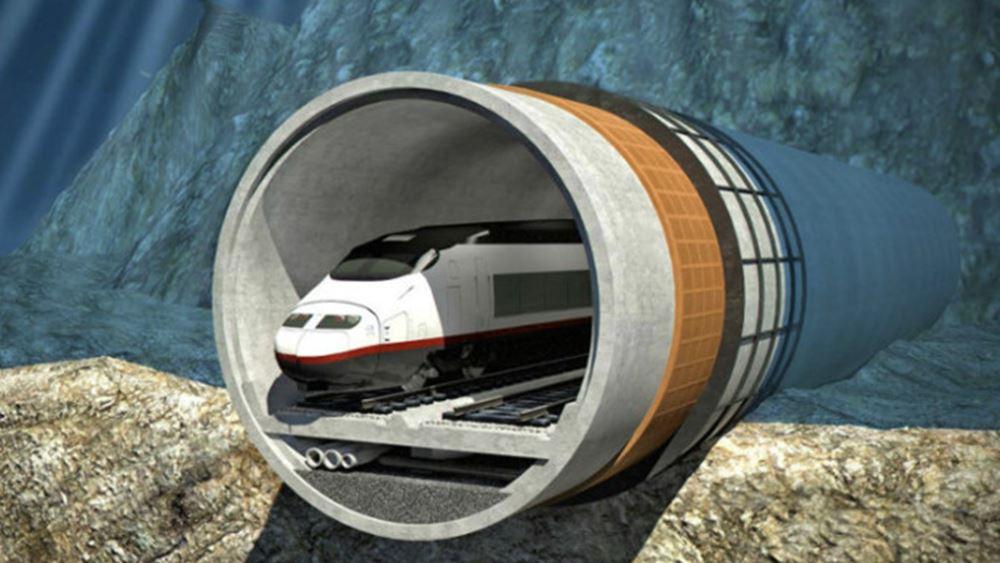 Κινεζική εταιρεία θα κατασκευάσει την υποθαλάσσια σιδηροδρομική σήραγγα Ταλίν-Ελσίνκι