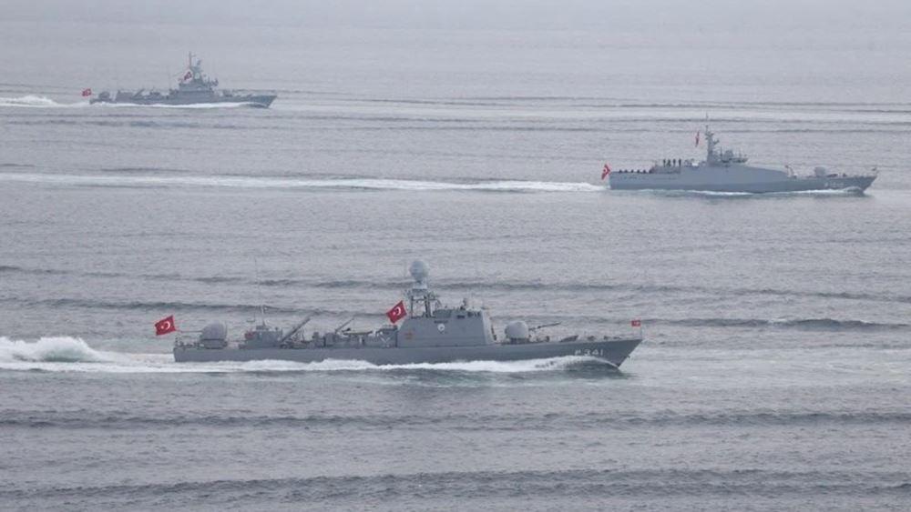Τουρκικές φρεγάτες απείλησαν και ΝΑΤΟϊκά πλοία στη Λιβύη