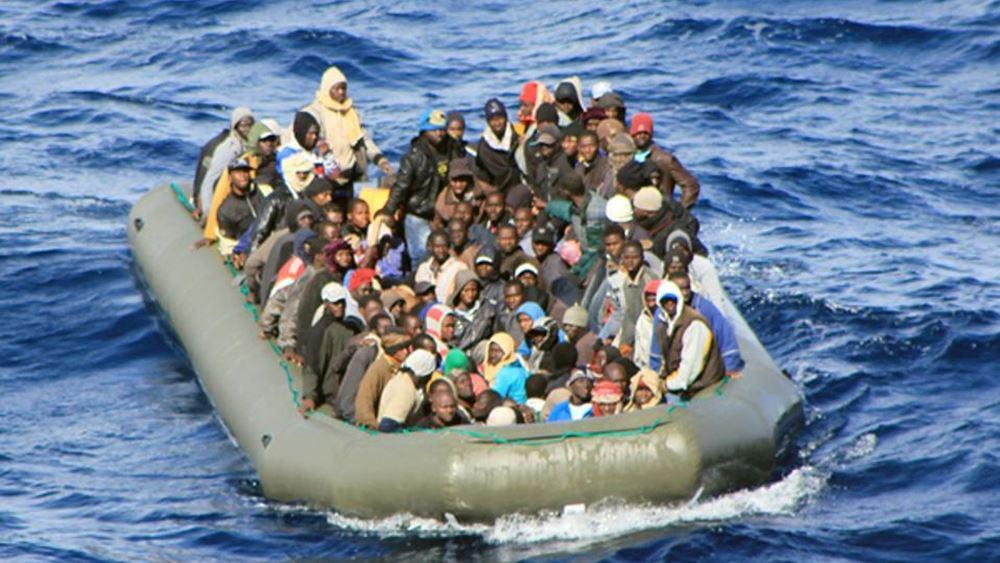 Ιταλία: Το λιμενικό διέσωσε 143 μετανάστες ανοιχτά της Λαμπεντούζα