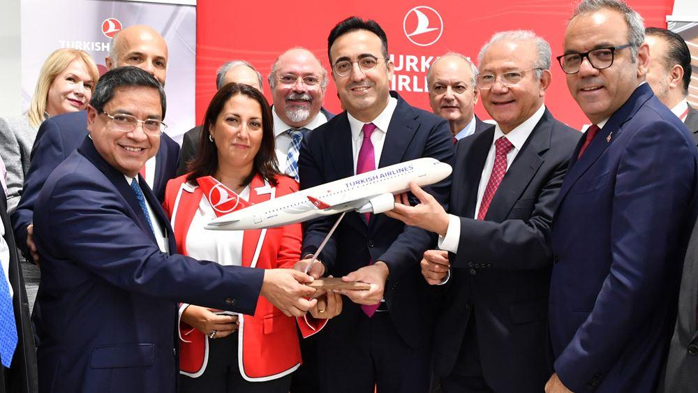 Η Turkish Airlines συνδέει την Αθήνα με την πόλη του Μεξικό και το Cancun