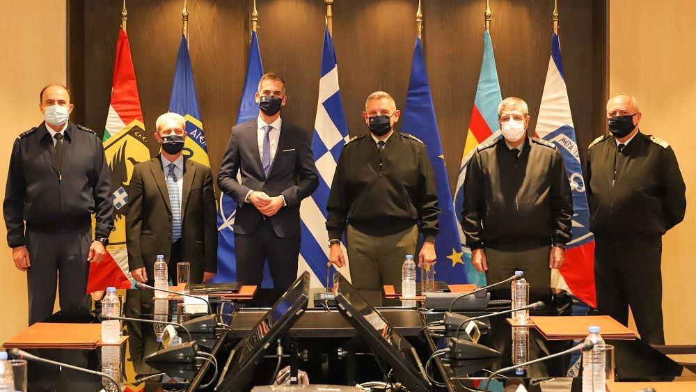 Πρωτόκολλο συνεργασίας για διαχείριση συσκευασιών και βιοαποβλήτων μεταξύ ΓΕΕΘΑ και δήμου Αθηναίων