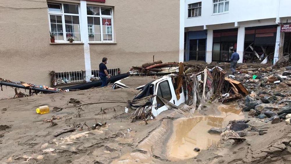 Τουρκία: Πέντε νεκροί, 12 αγνοούμενοι από ξαφνικές πλημμύρες