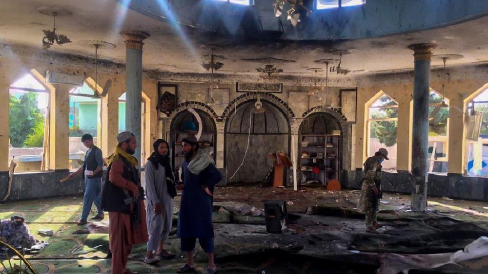 Αφγανισταν εκρηξη τζαμι 08.10.21