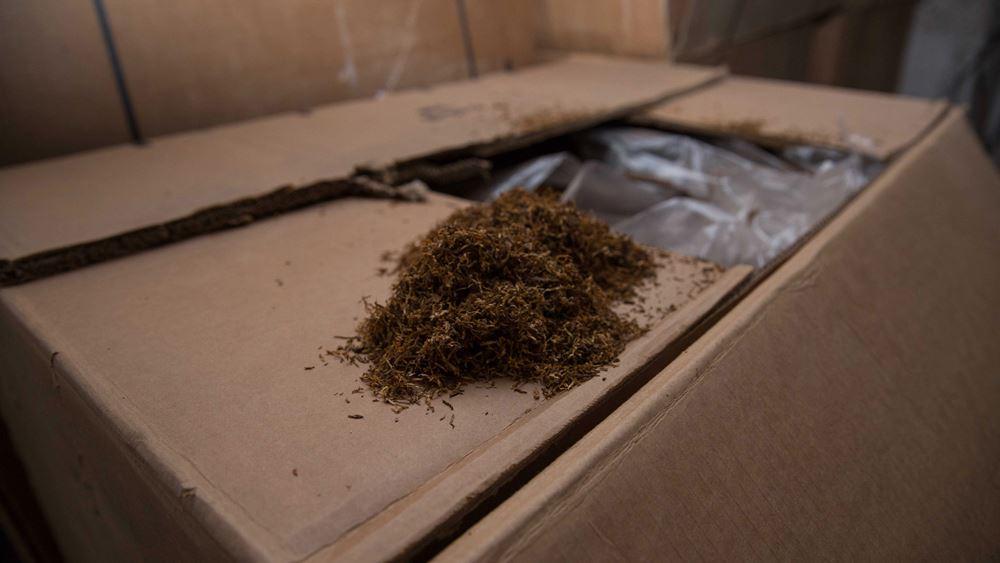 Θεσσαλονίκη: Δύο συλλήψεις για λαθραία τσιγάρα και κατάσχεση 11.000 πακέτων