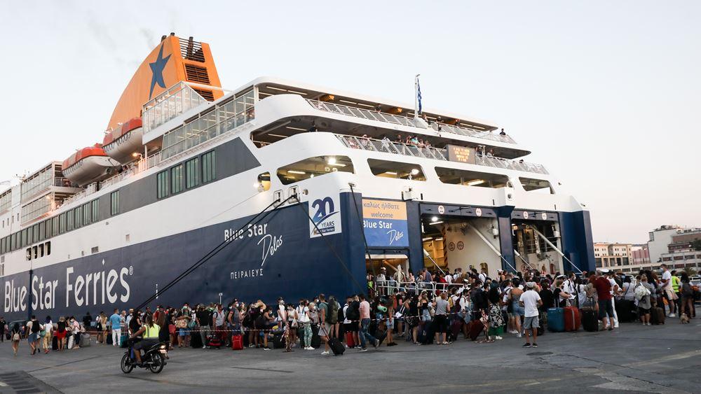 Αυξημένη από σήμερα η κίνηση στα λιμάνια λόγω της εξόδου για τον Δεκαπεντάγουστο